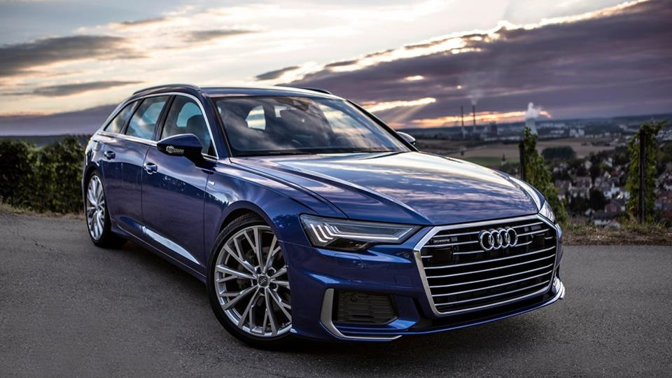 2019 audi a6 avant looks majestic on video. Black Bedroom Furniture Sets. Home Design Ideas