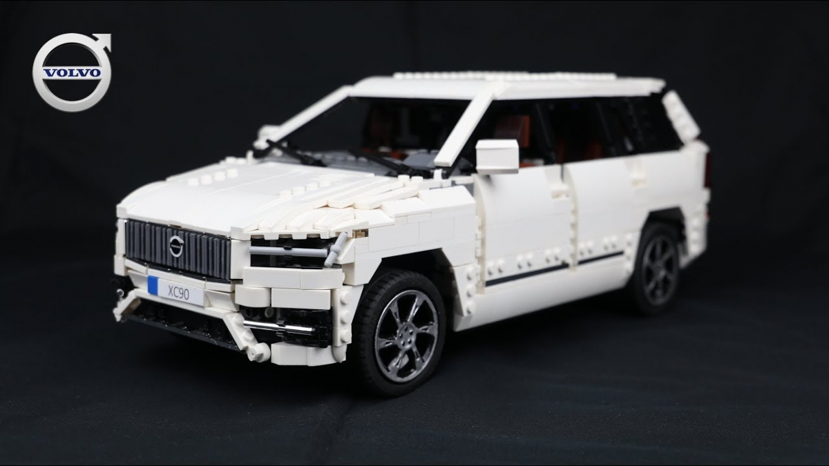 lego technic volvo xc90. Black Bedroom Furniture Sets. Home Design Ideas