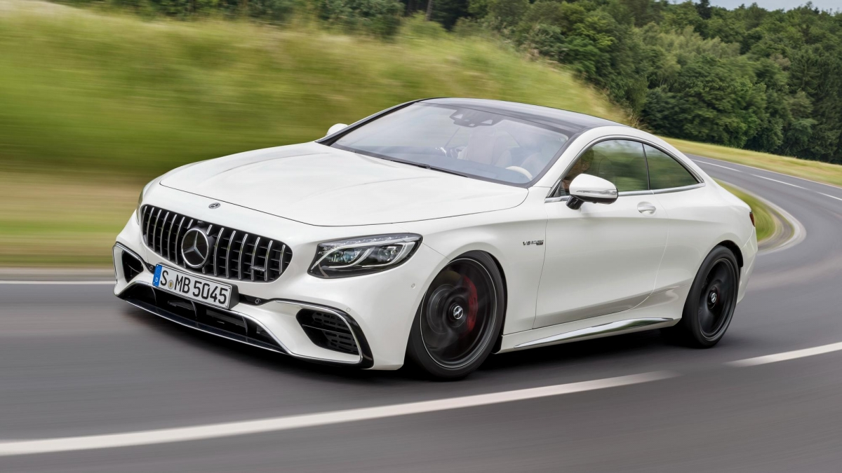 The Mercedes Amg S63 Coupe Is Mighty Quick And Fast