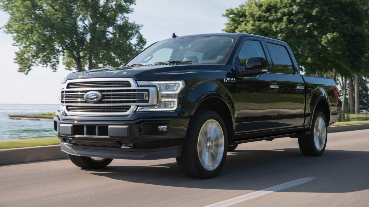 Ford f 150 will go hybrid eventually full electric