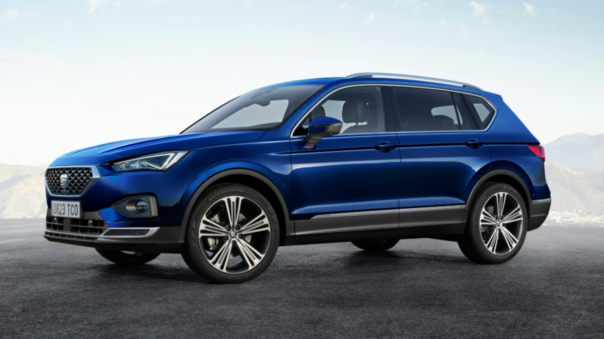 2019 seat tarraco debuts with seven seat option diesel and petrol en. Black Bedroom Furniture Sets. Home Design Ideas