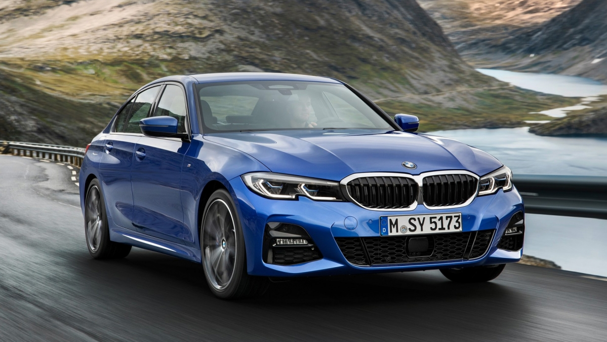 new 2019 bmw 3 series debuts at paris motor show. Black Bedroom Furniture Sets. Home Design Ideas