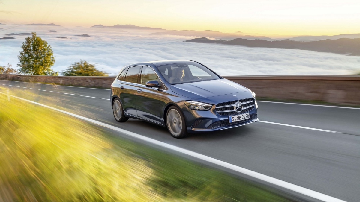 The New 2019 Mercedes Benz B Class Is More Agile And Full Of High Tech