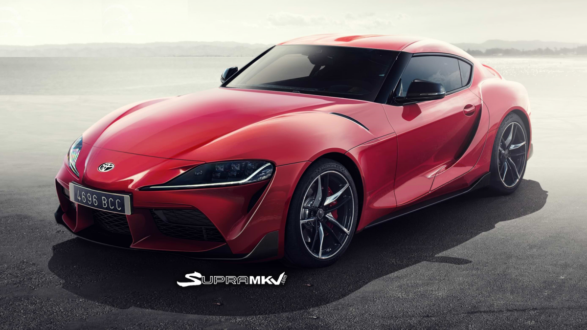 2019 Toyota Supra Rendered Will It Look Like This