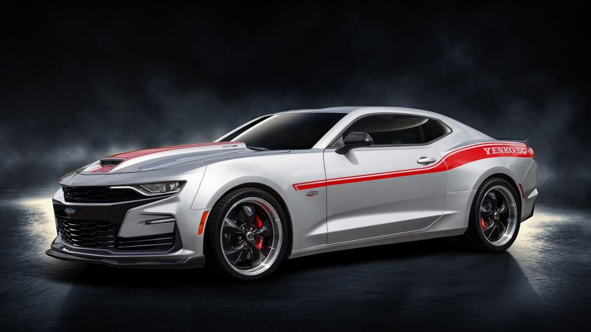 2019 Yenko Camaro: 1,000 hp, side stripes and fancy wheels