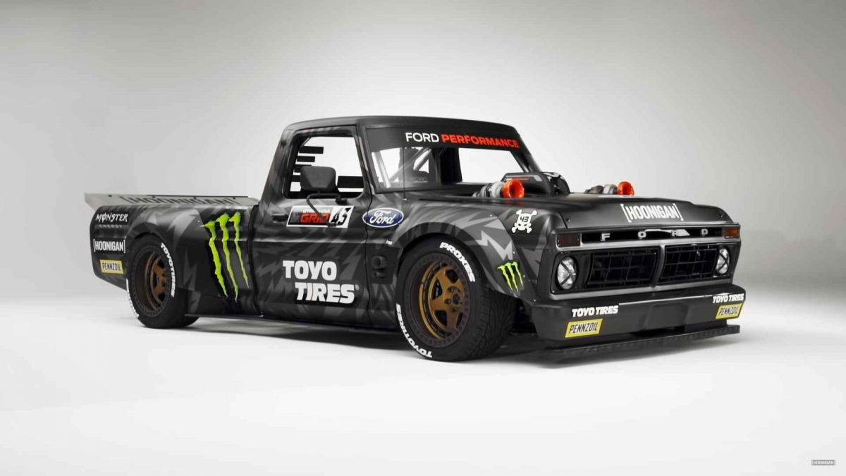 914-hp Ford F-150 Hoonitruck is Ken Block's latest vehicle
