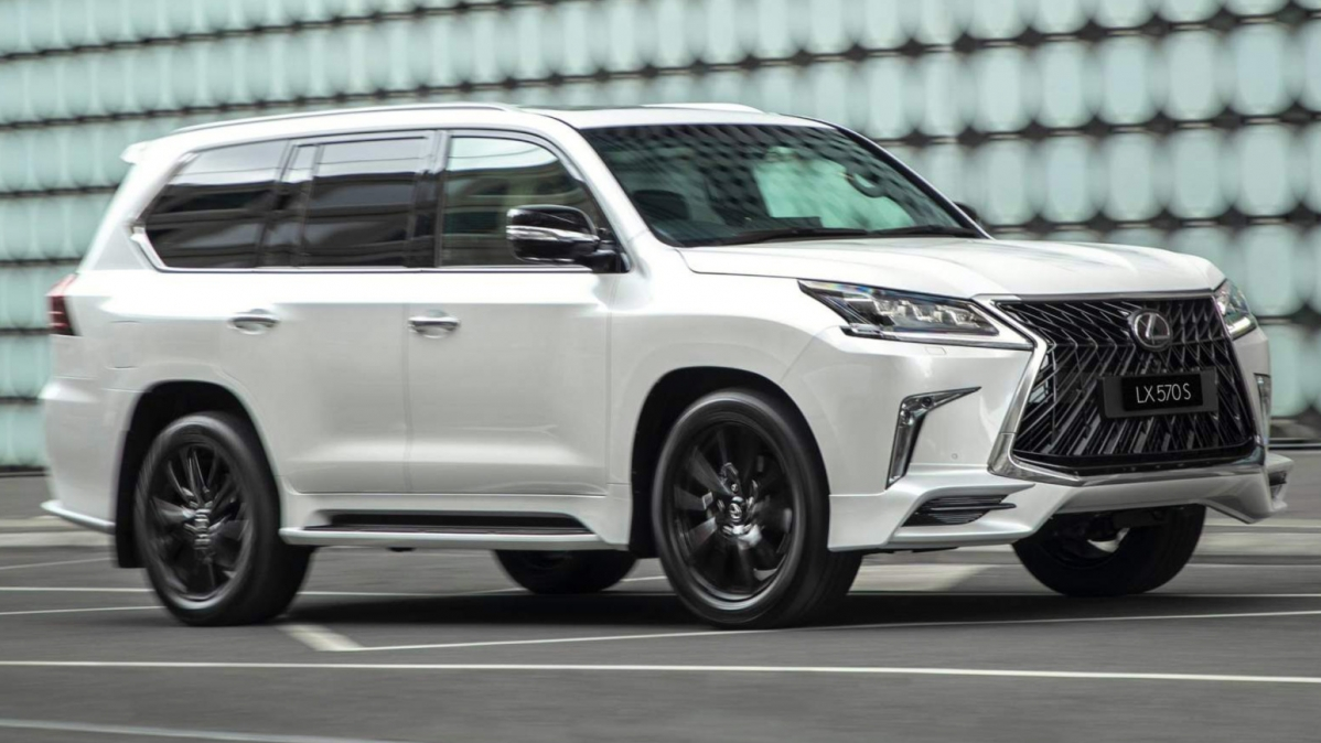 Lexus LX 570 S Launches In Australia