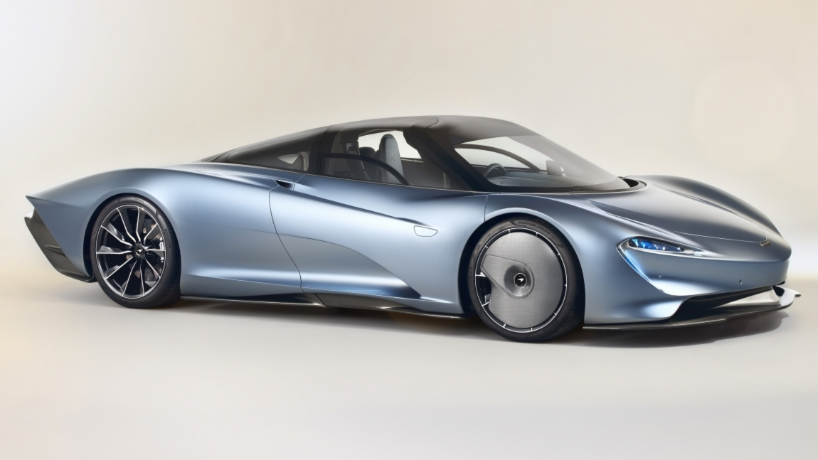 Mclaren Speedtail Is A Hybrid Hypercar Capable Of Doing