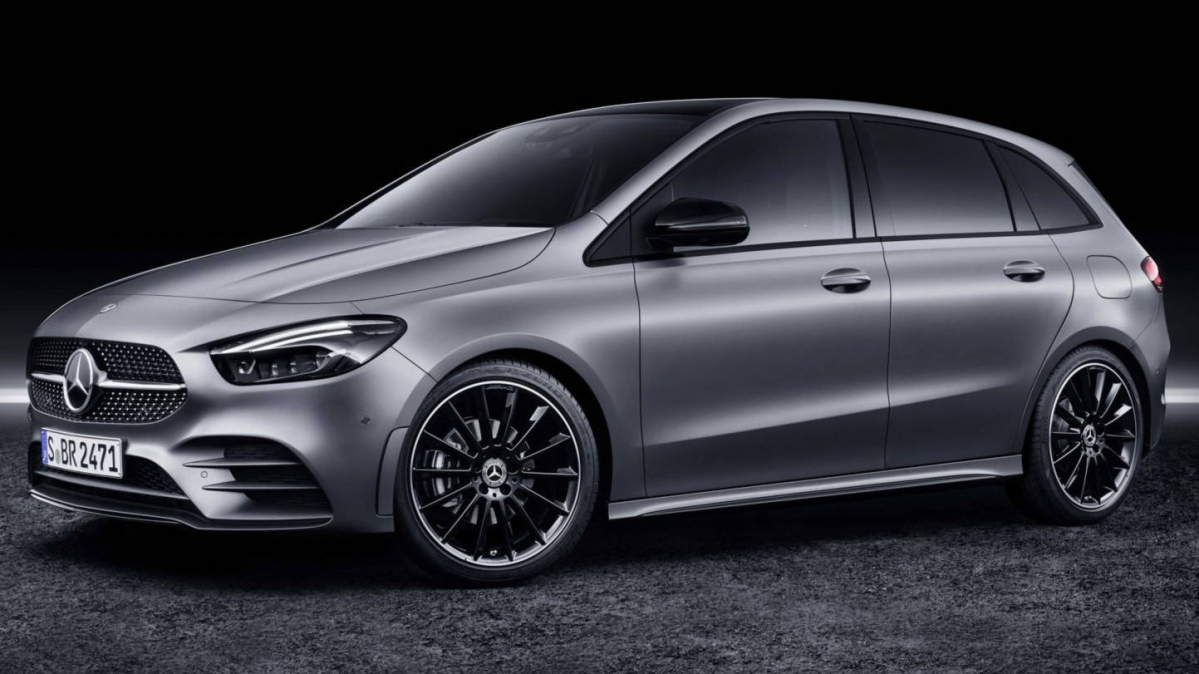 2019 mercedes benz b class detailed on video. Black Bedroom Furniture Sets. Home Design Ideas