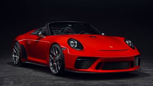 porsche 911 speedster paris motor show