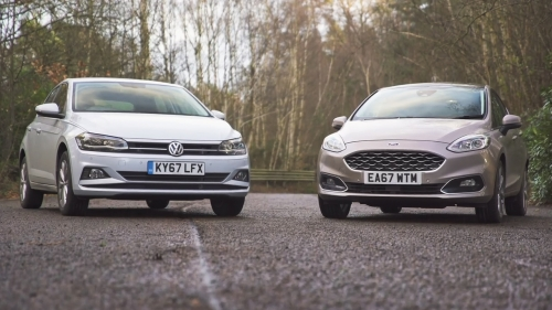 vw polo 2019 vs ford fiesta 2019