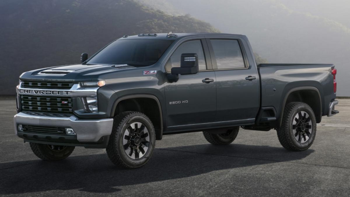 2020 Chevrolet Silverado HD is a torque monster