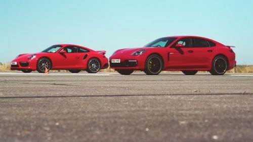 911 turbo s vs panamera turbo s e-hybrid