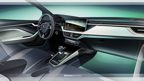 skoda-scala-interior-sketch