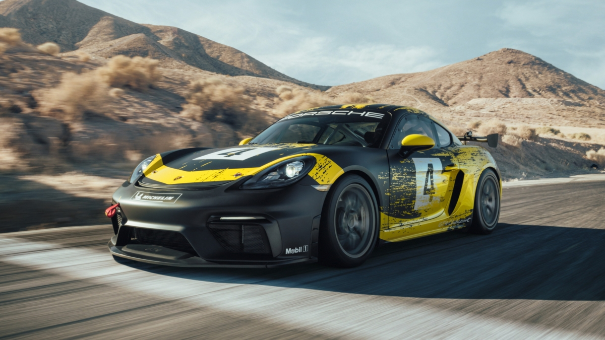 2019 Porsche 718 Cayman Gets Gt4 Clubsport Attire And Verve