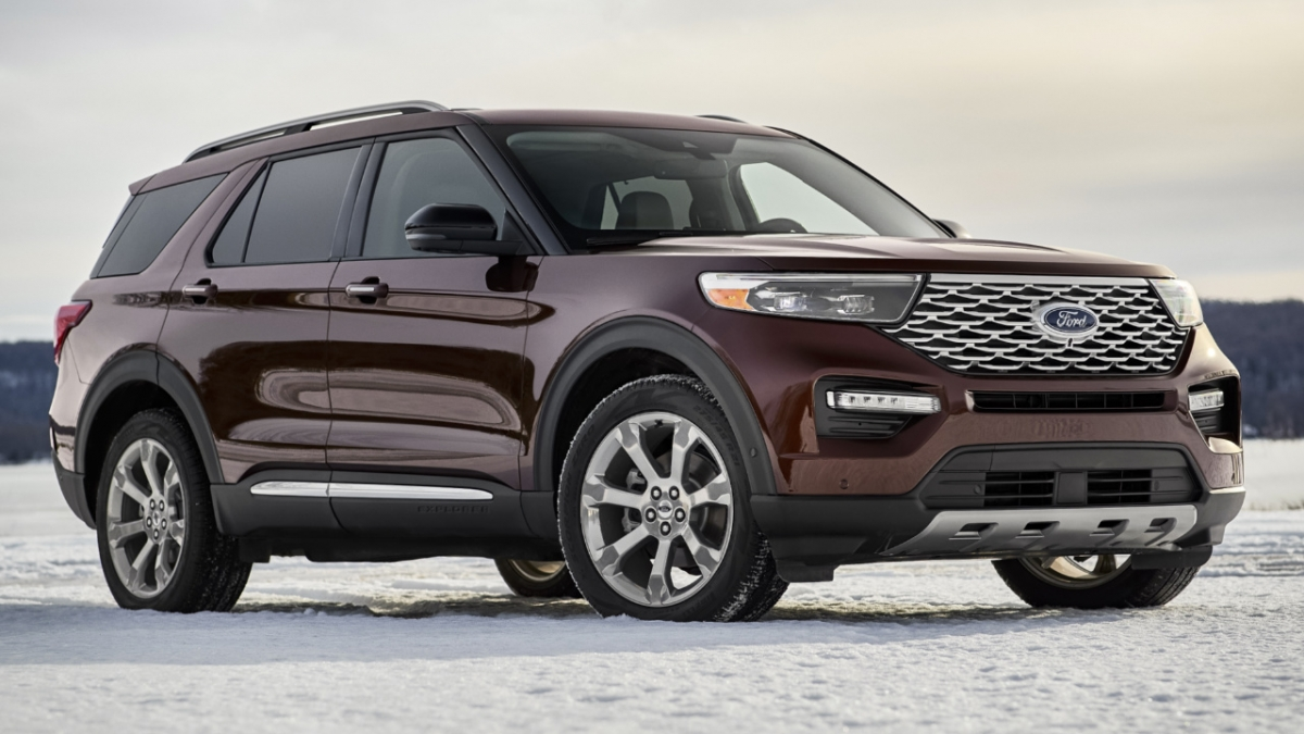 Ford Explorer 2020: this is it!